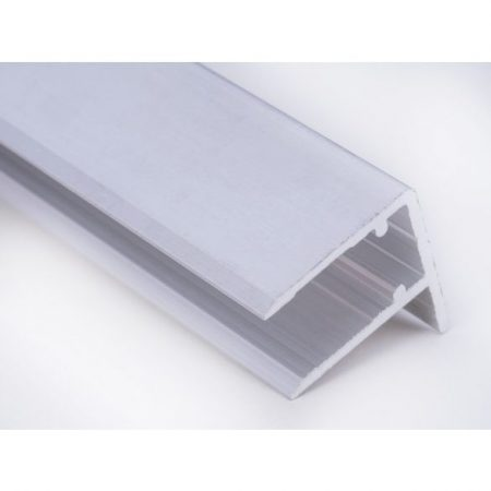 Alu vízorrros profil 10 mm 6400x 10