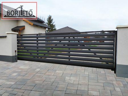 Íves kerítés léc  két oldalon matt felület 11,5 cm széles  4 db rögzítőcsavarral ingyenes szállítással!