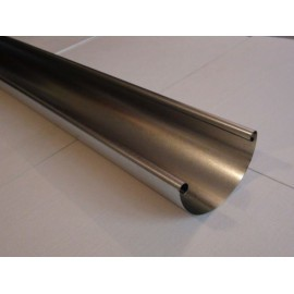 Ereszcsatorna vég+csonk  2m-es aluminium mini