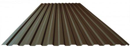 Trapézlemez T-18/0,60 mm Alumínium matt