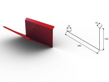 Cseppentő lemez 15 cm kiterítéssel  2 fm